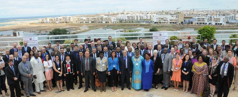 Réunion thématique sur l'asile et la protection internationale dans la région du Processus de Rabat.